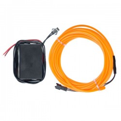 Néon flexible tuning auto orange 12 volts de 5m