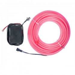 Néon flexible tuning auto rose 12 volts de 10m