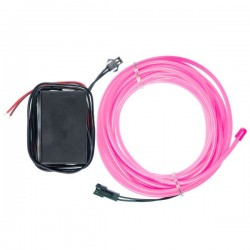 Néon flexible tuning moto rose 12 volts de 5m