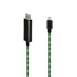 Chargeur lumineux vert pour iPad air
