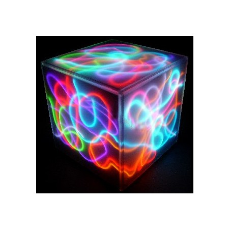 Neon flexible deco maison cube